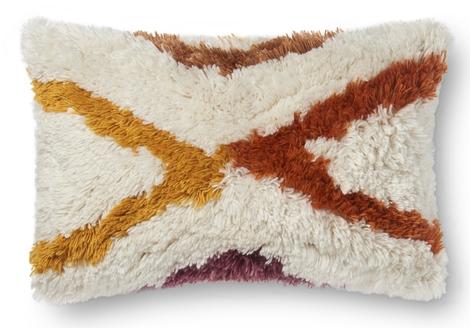 Justina Blakeney Summit Lumbar Pillow Ivory M