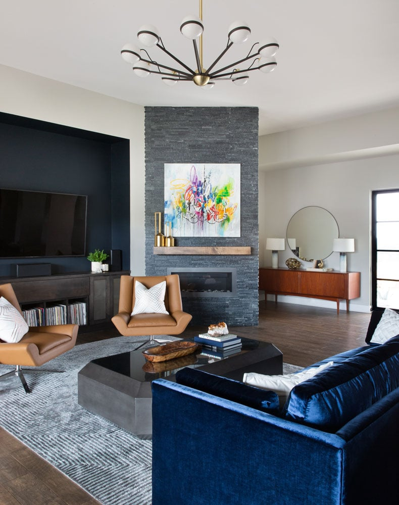 Dream Catcher Modern Getaway Family Room Design