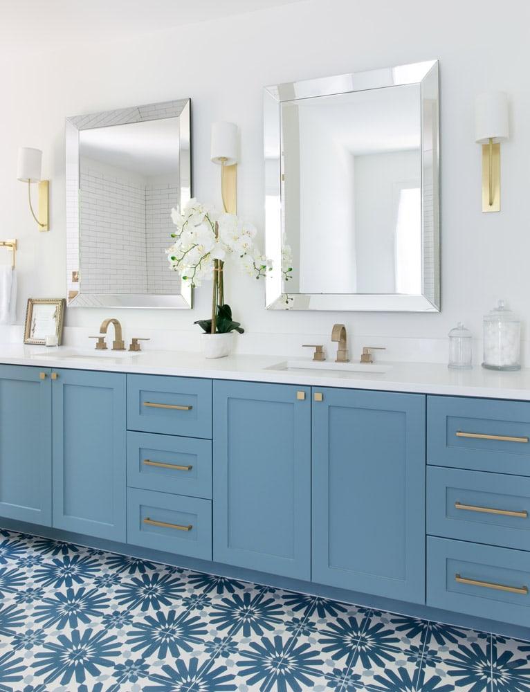 Camelot Austin Bathroom Twin Sink Design